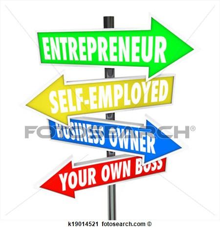 Entrepreneur Self Employed.