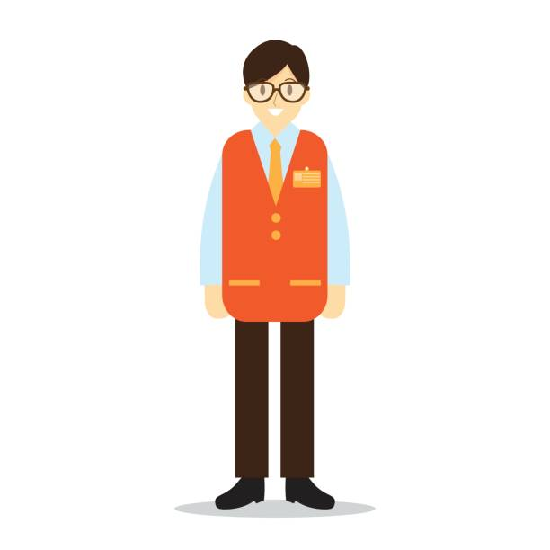 Best Retail Employee Illustrations, Royalty.