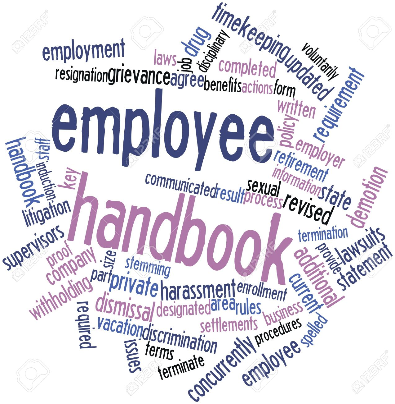 Collection of free Inducing clipart employee handbook.