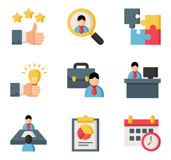 Employee Icons.