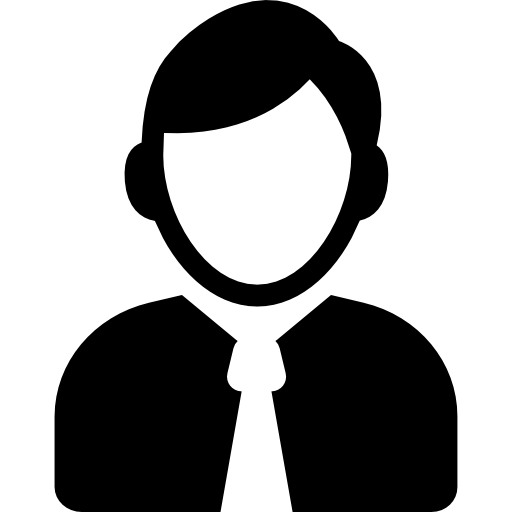 Employee Icon Png Black And White Vector, Clipart, PSD.
