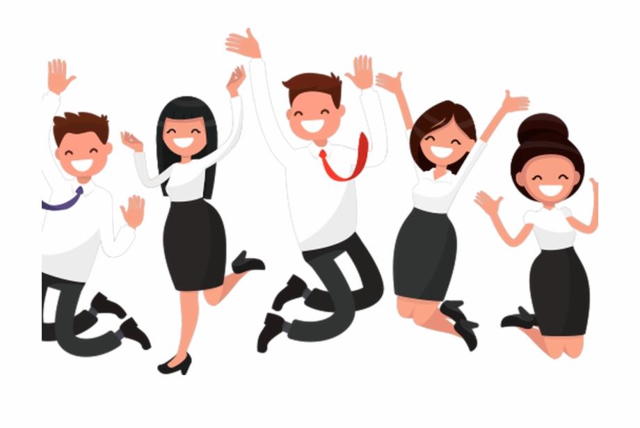 Happy Employee Cartoon Bing Images Clipart , Png Download.