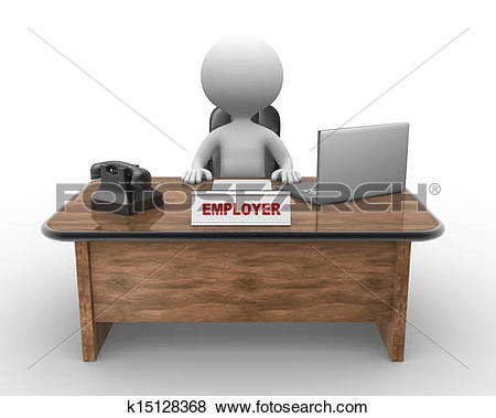 Stock Illustration of Laptop and phone. Employer k15128368.