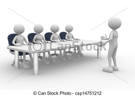 Clipart of Meeting.