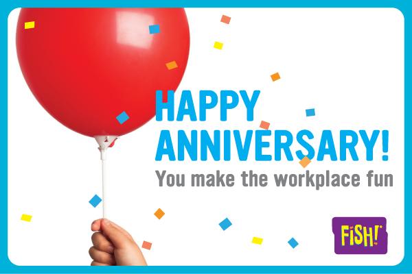Happy 1 Year Work Anniversary Clipart.