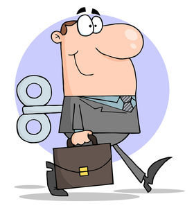Worker Clipart Image.