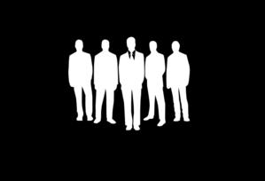 Employees 100% Opacity Black Clip Art at Clker.com.