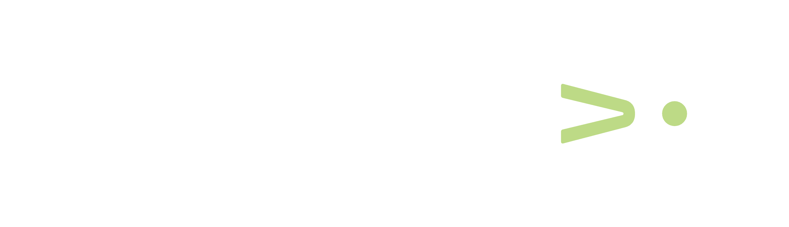 Sensative logo inverse empowered by data.