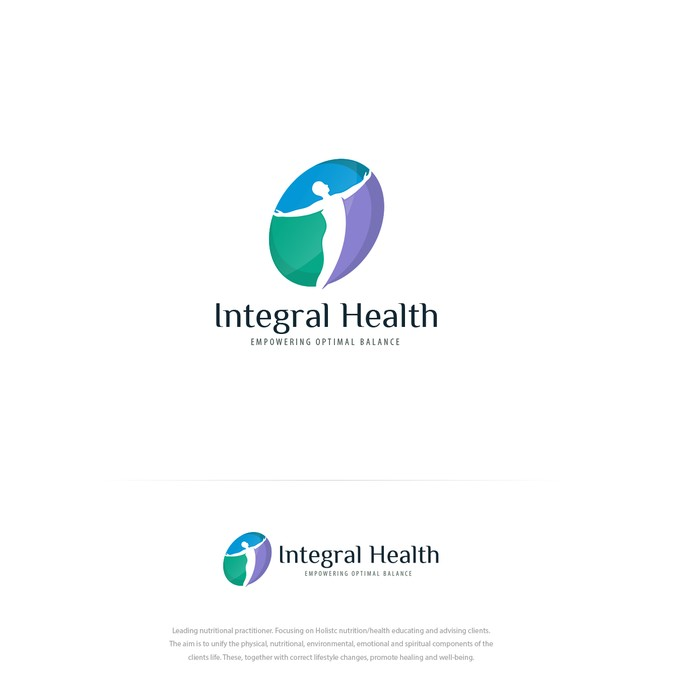 Integral Health needs a logo that gives empowerment for.