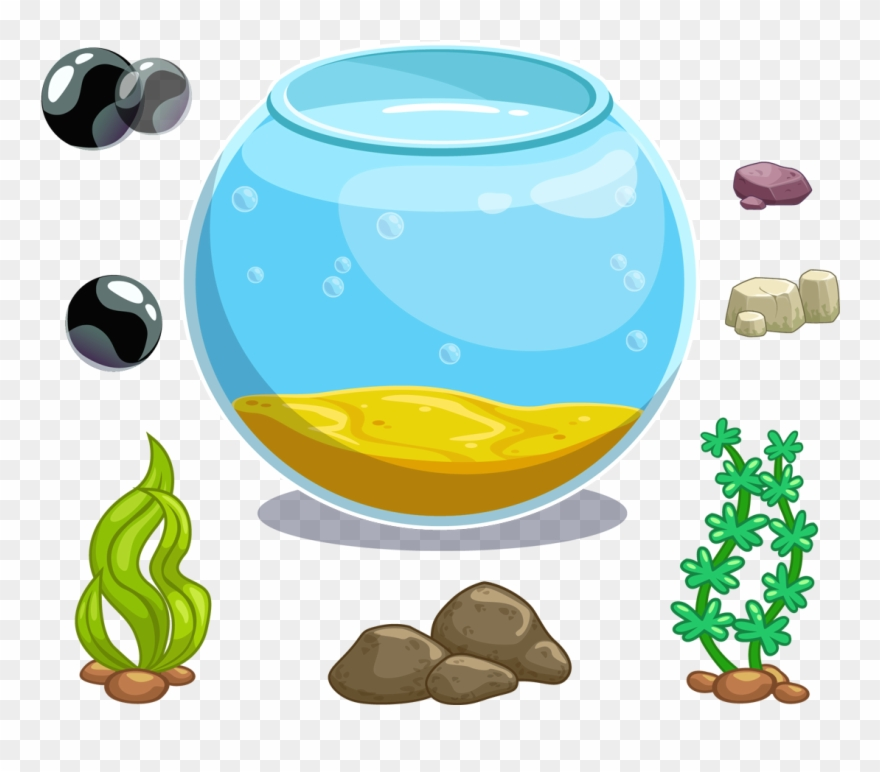 Clip Art Royalty Free Library Icon Fish Tank Transprent.