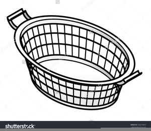 Clipart Empty Laundry Basket.
