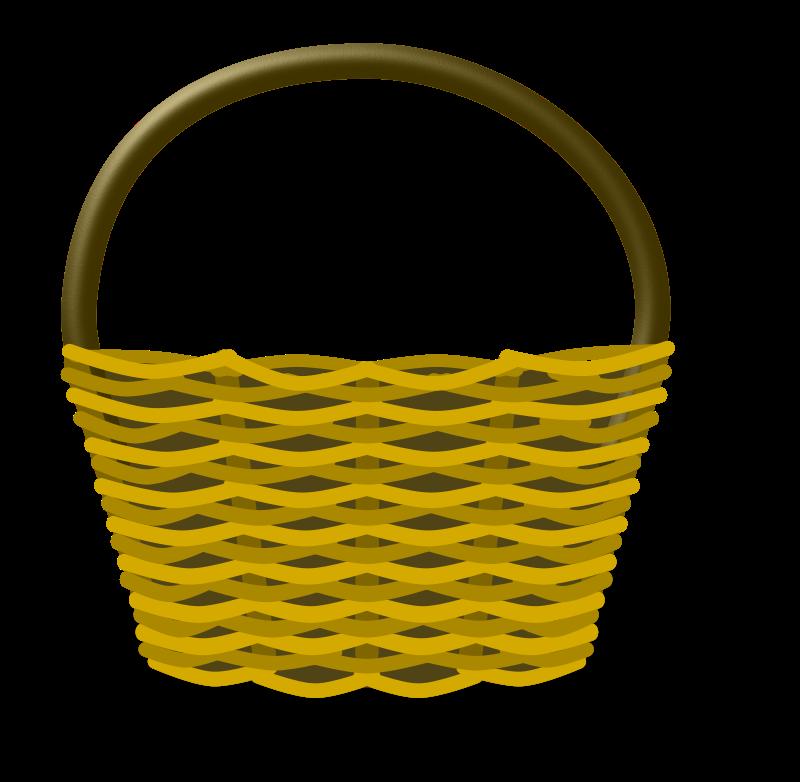 Free Clipart: Cesta de la compra vacía. Empty shopping basket.
