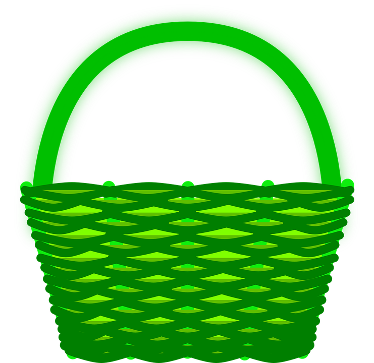 Download Free png Empty Easter Basket PNG Clipart.