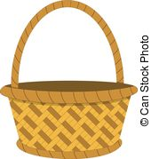 Empty Basket Clipart.