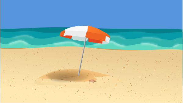 clipart beach scenes - photo #41