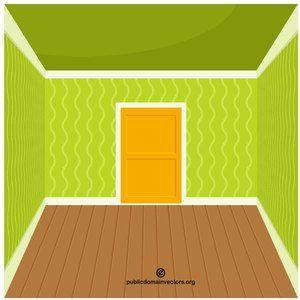 Empty room vector image #publicdomain #vectorgraphics #freevectors.
