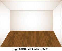 Empty Bedroom Clip Art.