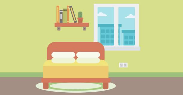 Best Empty Bedroom Illustrations, Royalty.