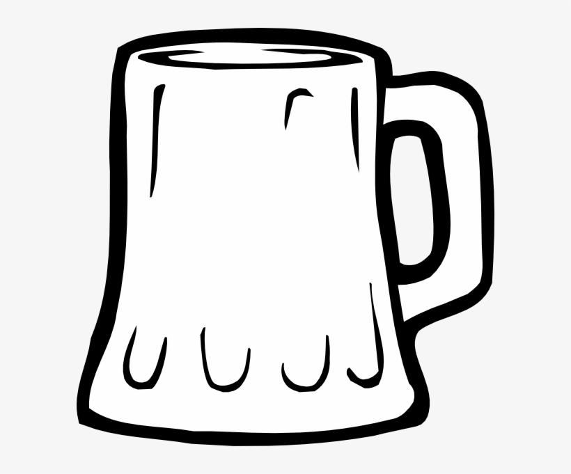 Beer Mug Silhouette Png Transparent Library.