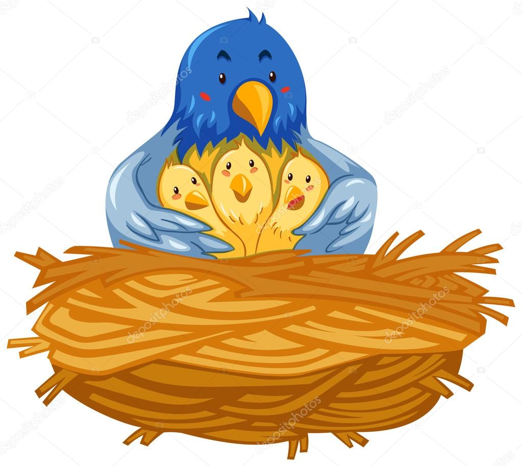 Empty Nest Clipart.