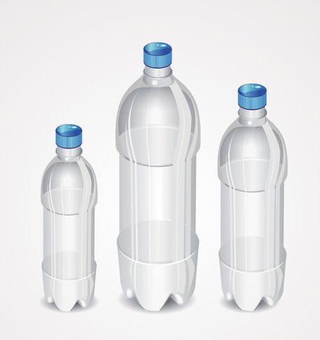 Free Empty Plastic Bottle Clipart and Vector Graphics.