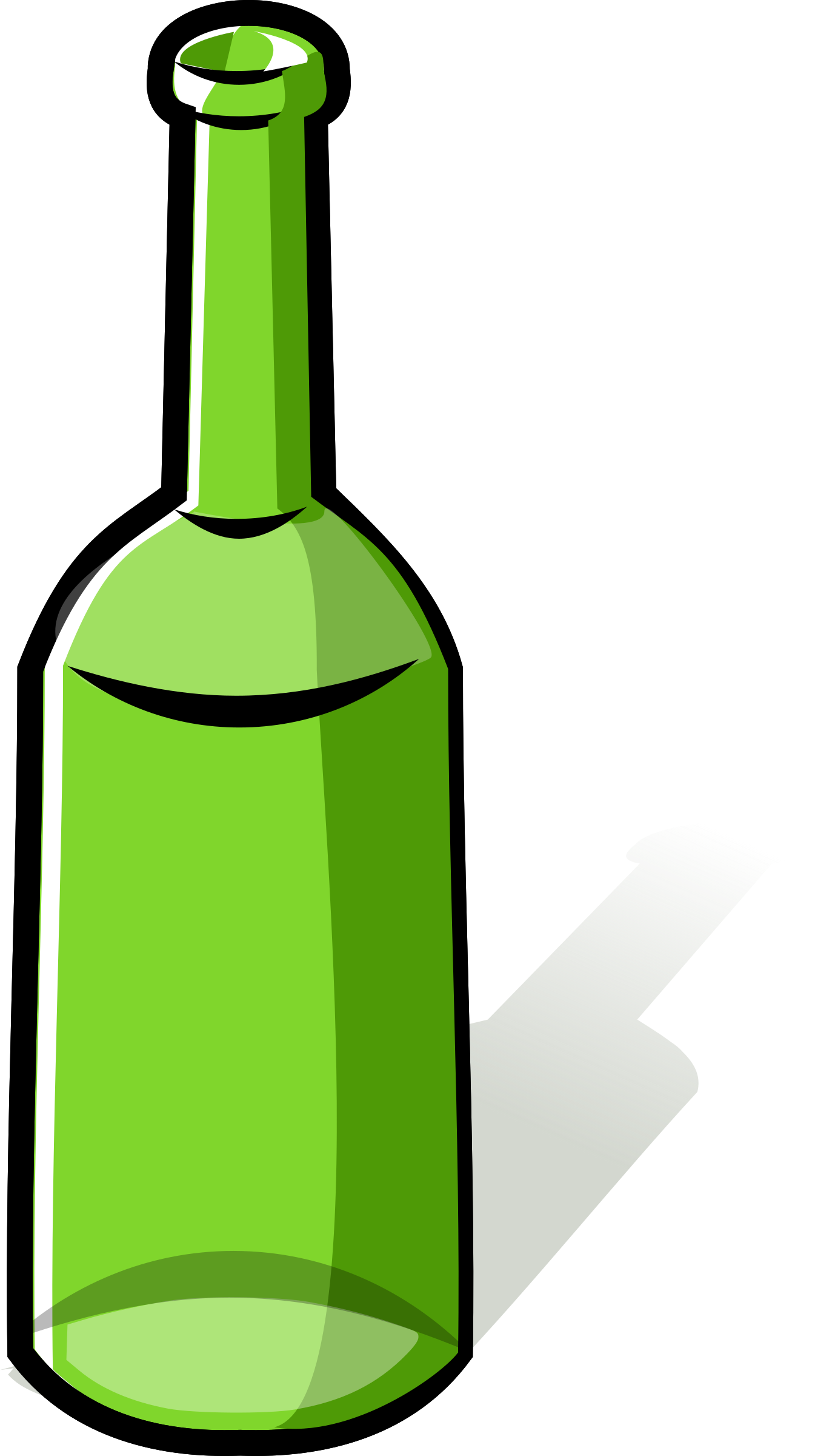Empty bottle clipart clipart images gallery for free download.