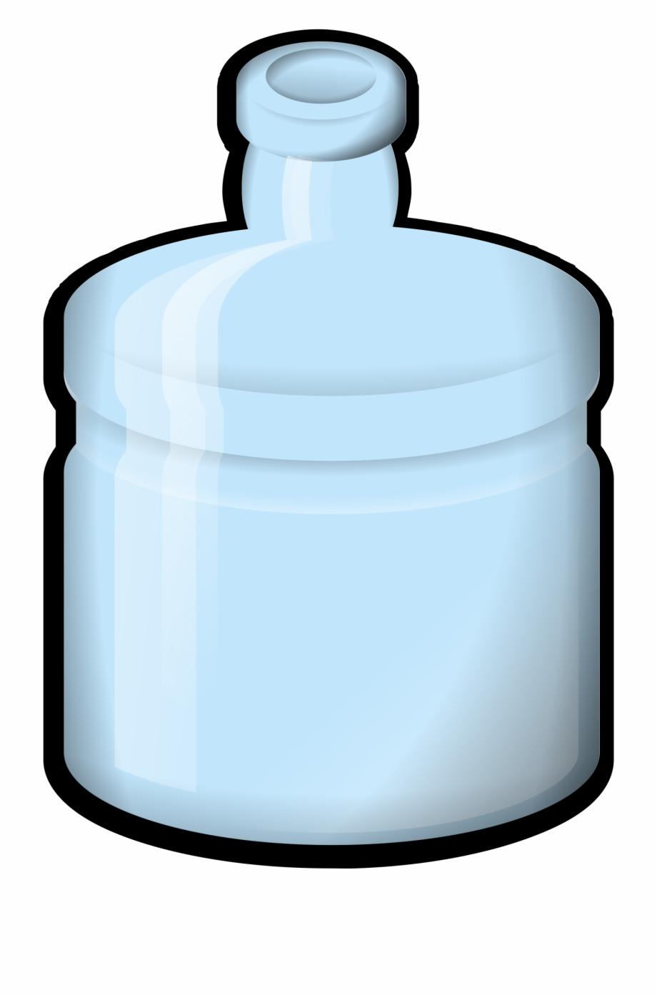 Drawn Bottle Plastic Water Bottle.