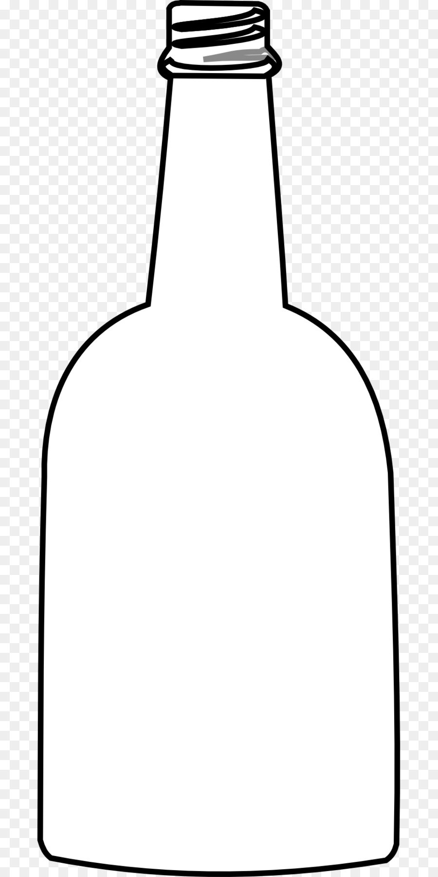 Empty bottle clipart black and white 4 » Clipart Portal.
