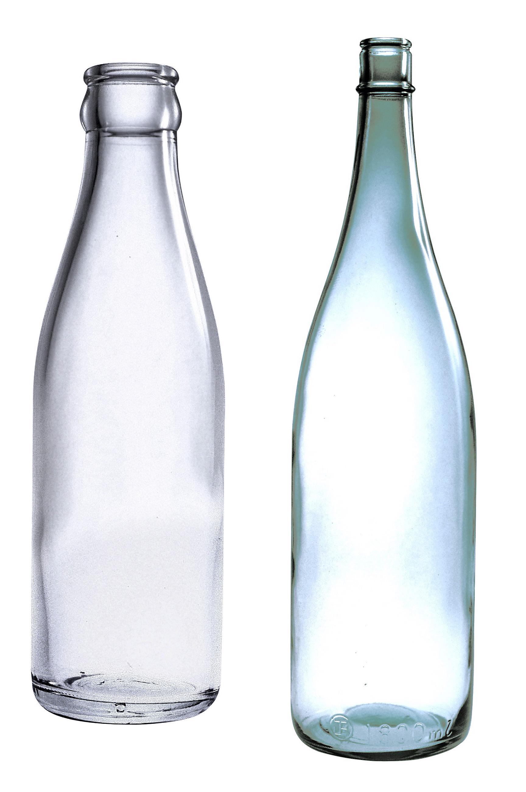 Empty Bottle PNG Image.