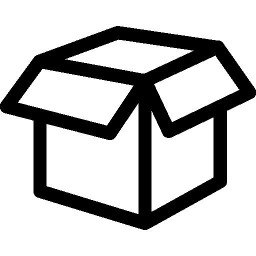 Empty white box Icons.