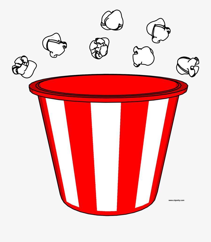 Popcorn Bucket And Pop Clipart Png.