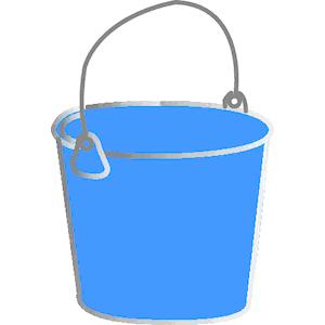 Empty Bucket Clipart.