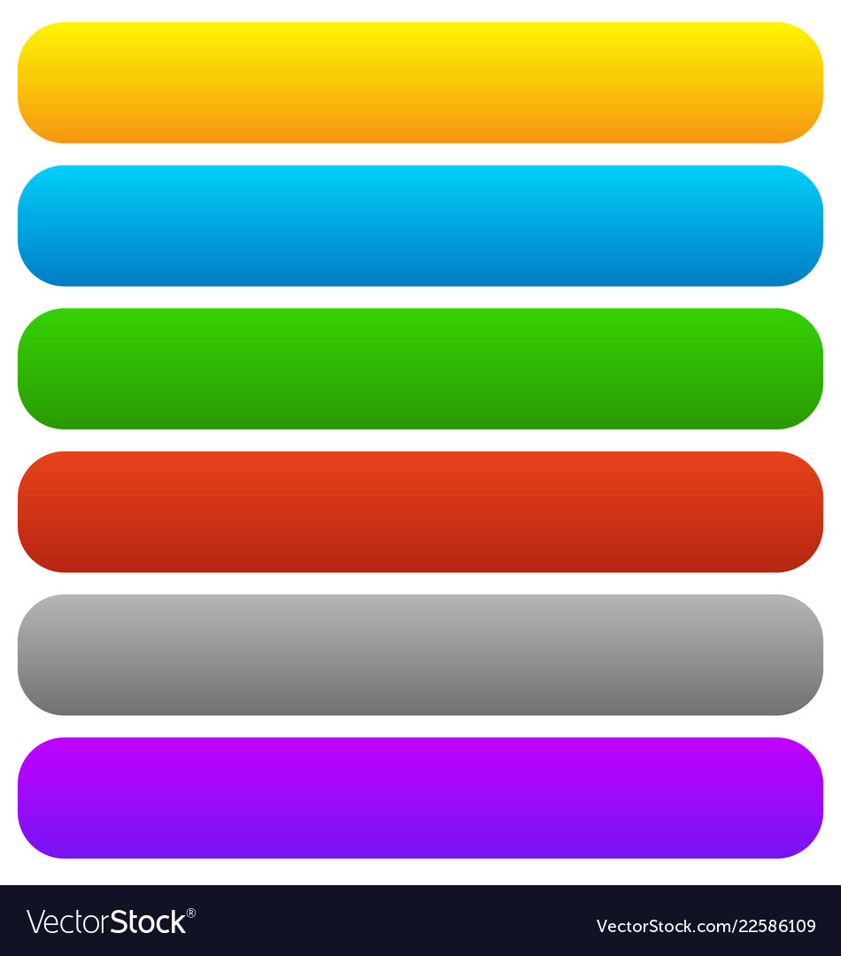 Empty button banner backgrounds horizontal.