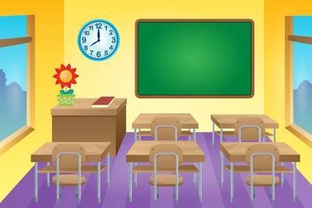 Download High Quality classroom clipart empty Transparent.