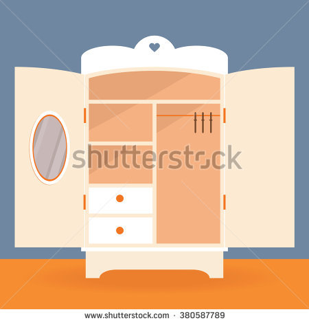 Closet Door Stock Vectors Images Vector Art