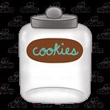 Cookie Jar, empty.