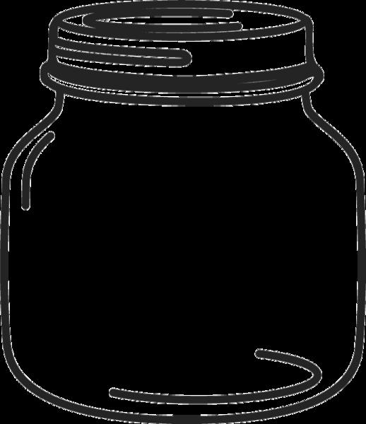Empty Jar Drawing.