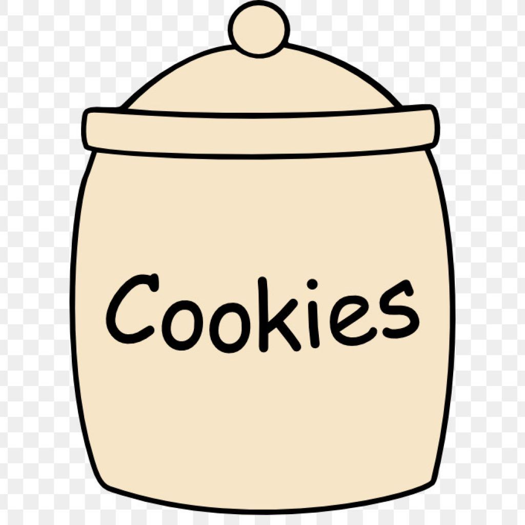 Cookie Jar Png Black And White & Free Cookie Jar Black And White.png.