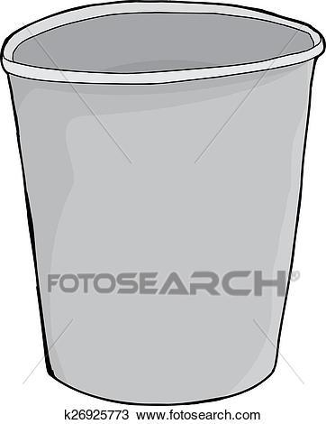Styrofoam Empty Cup Clipart.