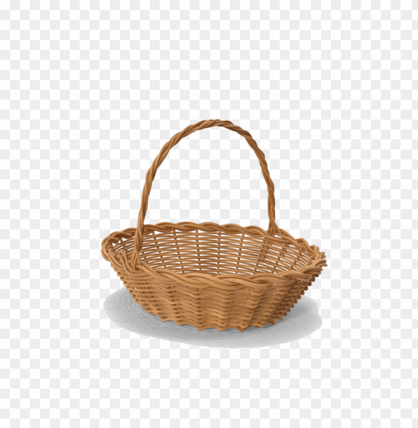 Download empty easter basket pn clipart png photo.