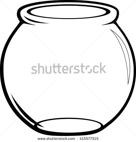 Fish Bowl Stock Images, Royalty.