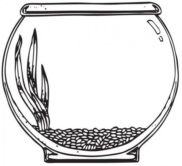 Fish Tank Clipart.