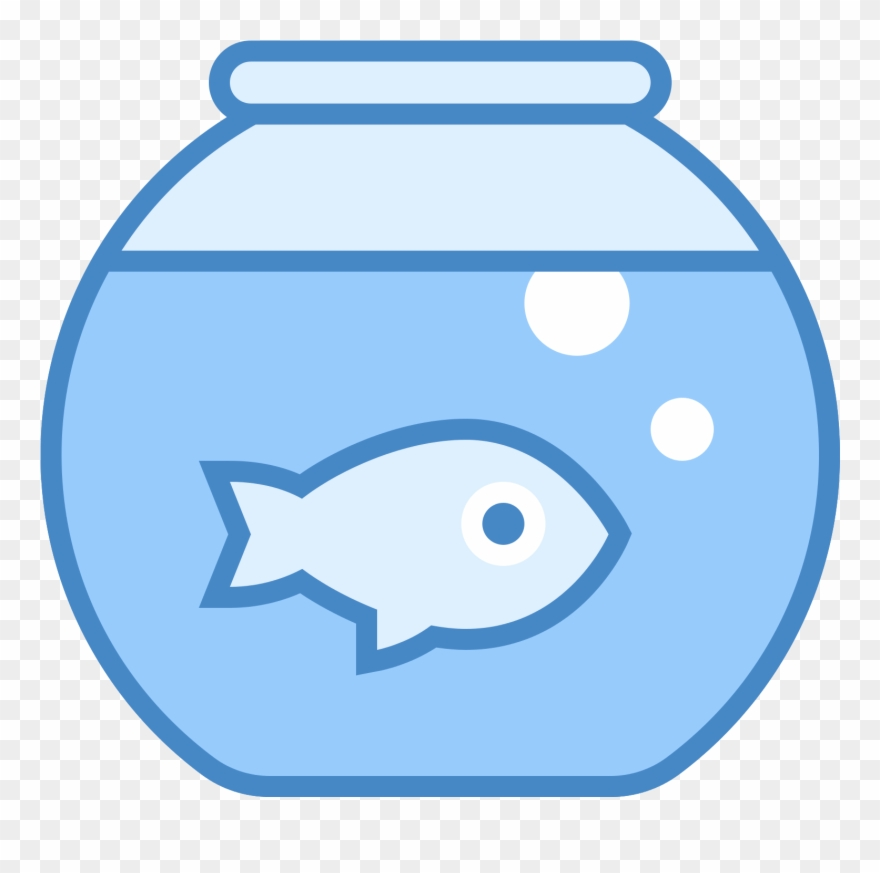 Fish Tank Icon Png Clipart (#178489).