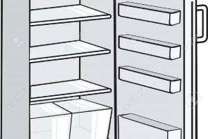 Empty fridge clipart 3 » Clipart Portal.