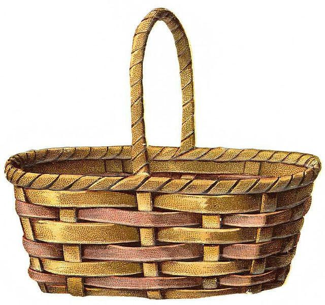 Collection of 14 free Basket clipart full basket bill clipart dollar.