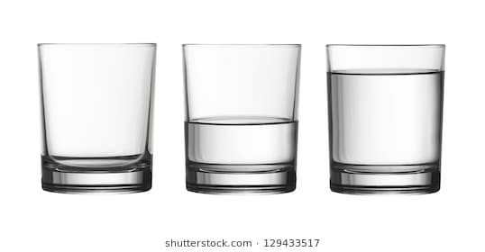 Empty glass clipart black and white 6 » Clipart Station.
