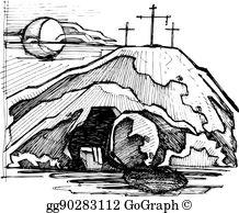Empty Tomb Clip Art.