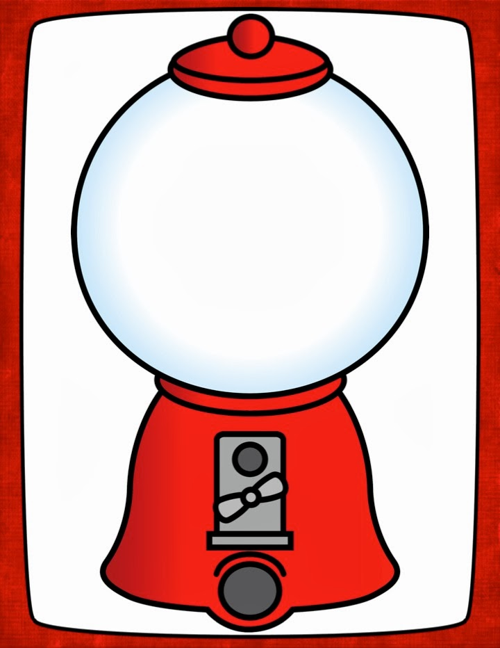 160 Gumball Machine free clipart.