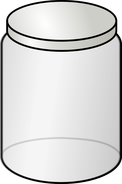 Empty Cookie Jar Clipart.