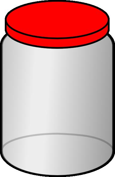 Empty jar clipart.